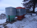 pic 1 1 Osborne holds 3400 pounds in perfect shape $450  - Hog Weight 50 lbs. to market. Capacity Up to 90 head .