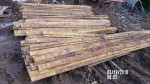 "16 rails - 4 1/2"" tall by 9 ft '2 inch Poly grate rails @ $ 1 per foot"