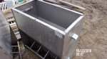 "8 - 30"" double sided feeders  - $90 each  heavy duty Stainless feeders"