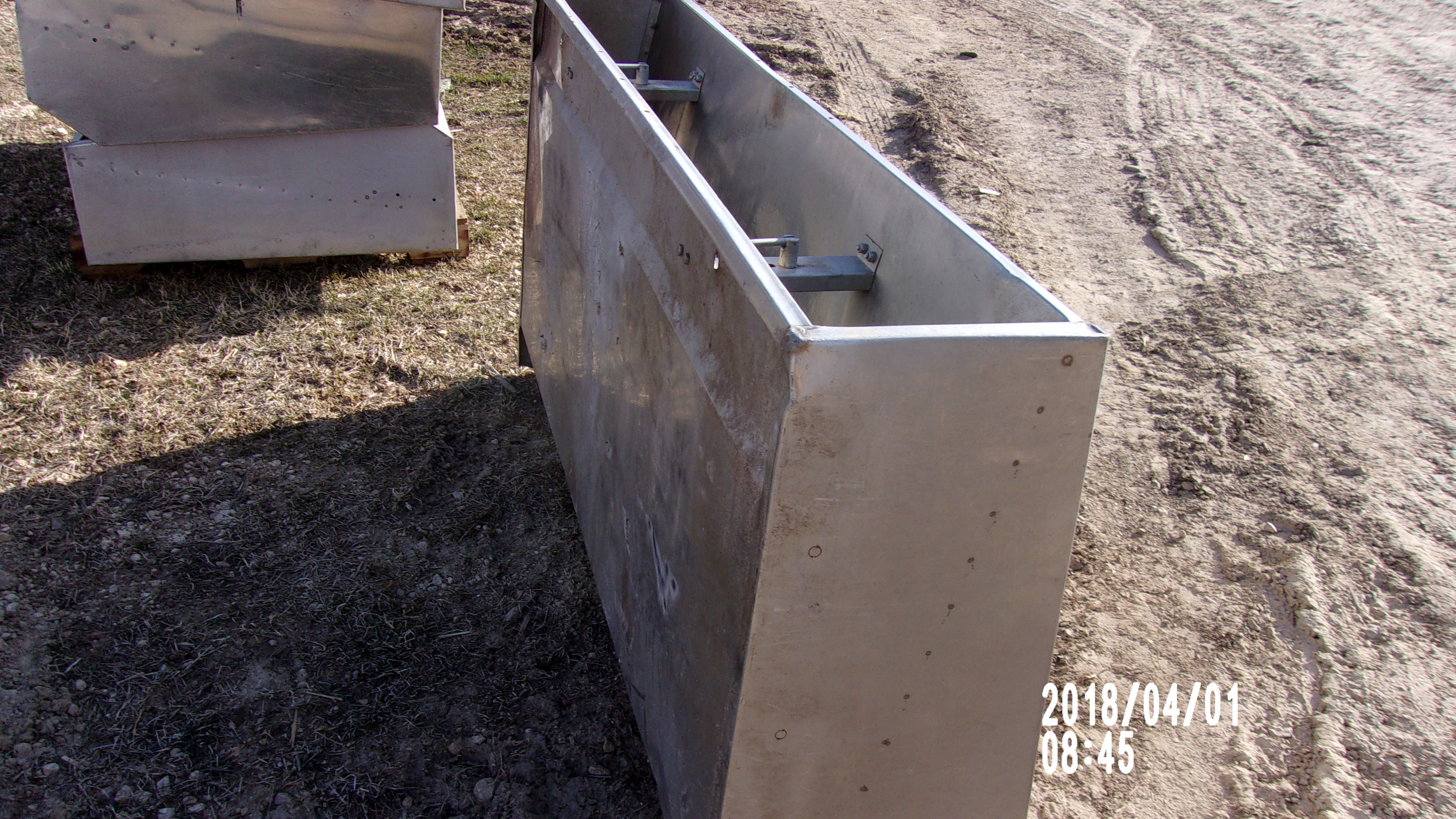 """Picture1- 1 units of AP  60"""" single sided feeder @ $160 each -  5 Hole Single Sided      60.125"""" x 36 1/4"""" x 25 1/4""""  holds  360 lbs. of feed"""