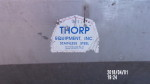 """Picture 3  - one big single sided Thorp Finishing Feeder - 100 """" long (8ft. 2 in) - 36"""" tall by 17"""" wide - $200"""