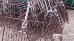"""23 - 30"""" vertical rod gates by 34"""" long @ $13  with out nipple waters"""