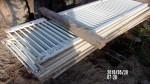 "pic 1 - 18 fiberglass gates 24"" by 8 foot long - $25 each"