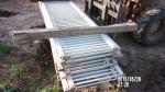 "pic 2  - 18 fiberglass gates 24"" by 8 foot long - $25 each"