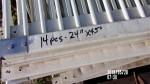 """pic 1 - 14 fiberglass gates 24"""" by 45 """"  long - $15 each"""