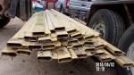 "PIC 4 - 28 pieces 4 1/2"" by 14ft log - $15 each  Box-I Beam with the lip on top. Box I-Beam •Maximum 9' (274 cm) span with pigs up to 100 lbs. (45kg).  I have the leg sets to go with these"