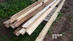"pic 2 -  21 rails  double L - 5"" by 16 foot long - $16 each have end caps"