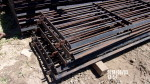 """all sold  pic 1 - 16  left  units - 97"""" long gates by 30 """" with brackets on each end for rods at $40 each"""