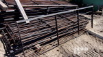 """pic 2 - 16  left  units - 97"""" long gates by 30 """" with brackets on each end for rods at $40 each"""