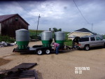 3 feeders to Odessa Missouri