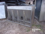 "picture 4 - 20 units, Double sided stainless steel feeders - 52"" long, 35"" tall by 28"" side - $160 each"