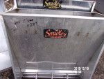 """pic 1 - 1 - single sided stainless nursery feeders 24"""" wide by 10"""" deep by 28"""" tall @ $75 each"""