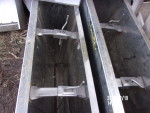 """pic 3 - 1 - single sided stainless nursery feeders 24"""" wide by 10"""" deep by 28"""" tall @ $75 each"""