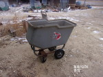 "pic 3 AP feed cart - $85 , sells new for $224 @QC Supply.  •Capacity of 4.5 bushels •Weight: 34.5 lbs. •Dimensions: 41"" High x 19"" Wide x 35"" Long"