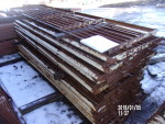 """21 GATES 34"""" BY 109""""  @ $45 and one  9 FT 1""""   oN TOP IS ONE 30"""" BY 9'6""""  @ $45 9' 6"""""""