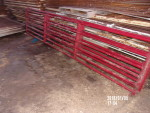 "pic1 - 2 gates used less than 6 months -  $80 each. as a new Item # AE290-005-K14R, HG633-14' 1 3/4"" Hog Gate List Price $162.00"