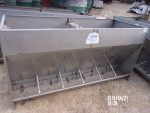"pic. 7 - 5 double sided Thorp finishing feeders - 28"" wide by 72"" long by 36"" tall @ $225 each"