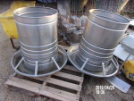 pic 3 - 3 all stainless steel rotary feeder - $125 each  really nice shape