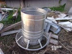 pic 1 - 3 all stainless steel rotary feeder - $125 each  really nice shape