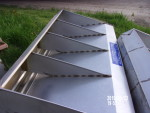 """picture 6 -10 sold . 35 left 45 unit Farmweld 56"""" long by 33"""" tall double sided feeders these are only like 5 years old.  Excellent condition $185 each"""