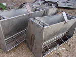 "pic 1 - 4 units 60"" long double sided feeders @ $150 each"
