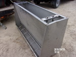 "Pic 3 of 3 - 1 nursery/ grower Stainless  feeder -56"" long by 7 holes per side 21"" wide by 31"" tall so you could feed pigs a little bigger- $120"
