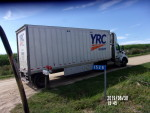two 60  bushel feeers to Elgin  texas on YRC freight