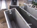 "pic 2 of 3 --- 7 - 36 "" double sided nursery feeders at $100 each"