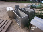 "pic 1 of 3 --- 7 - 36 "" double sided nursery feeders at $100 each"