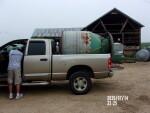 60 bushel hog feeder shipping to Girard KS on July 15th