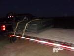 Flush pans headed to Wolbach Nebraska
