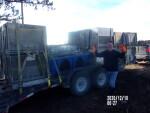 hog feeders headed to Pierson Iowa