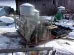 pallet 1 of 3 headed to Blackfoot Idaho - 3 crates and 2 floors