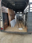 2 crates and floors to Winfield MO