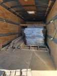 load of plastic floors  to Oto, Iowa  01 07 2017 for green house