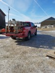 3 crates shipped 01 /14/17 picked up on Galesville, WI