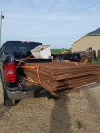 lot of gates headed to Weyauwega Wisconsin on 06 -16 -2018