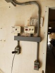 seperate set of controls for the farrowing & nursery rooms