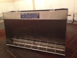 16 stainless 4 foot Farmweld nursery feeder for sale, asking $150 a piece