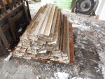 """pic 2 of 3 - 82 rails that are 5"""" and just a little over 4 feet long each at $4 each"""