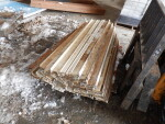 """pic 3 of 3 - 82 rails that are 5"""" and just a little over 4 feet long each at $4 each"""