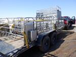 9 Stainless crates headed to Baldwin Iowa