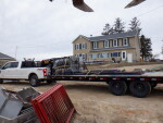 Gates, sow feeders, and wet dry feeders headed to Osseo , Wisc.