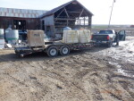Plastic flooring and rails headed to Early Iowa