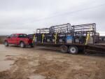 12 crates headed to Clermont Iowa