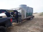 4 hog water, 4 Osborne feeders and 4 Thorpe feeders to Stewardson, IL