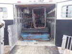 Crates, flush pans and flooring to Veronia, IL
