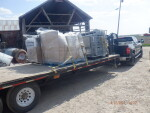 48 new vents from Double L group being delivered to Forest City Iowa