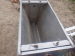 """pic 5 of 5 - 2 nursery double stainless nursery feeders - $60 each. 36 inches long,  19"""" W by 25 inches tall"""