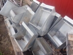 """pic 1 of 6 - 19 sow feeders @ $30 each  - 13 1/2"""" wide by 12 """" deep by 24"""" tall"""